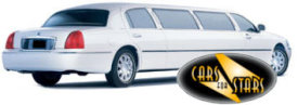 Limo Hire Baxley - Cars for Stars (Romford) offering white, silver, black and vanilla white limos for hire