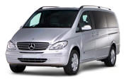 Chauffeur driven Mercedes Viano people carrier - Up to 7 passengers in comfort, from Cars for Stars (Romford) - Airport Transfer Services